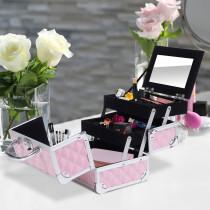 Maletin HOMCOM para Maquillaje Organizad