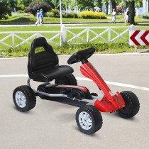Coche de Pedales HOMCOM Go Kart Racing D