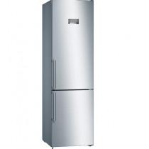 Bosch KGN397LEQ nevera y congelador Independiente 368 L E Acero inoxidable