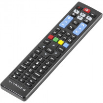 Vivanco RR 260 mando a distancia IR inalámbrico TV Botones