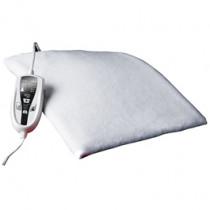 Daga N manta eléctrica y almohadilla Calentador de cama eléctrico 100 W Blanco