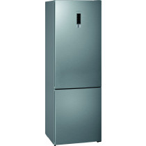 Siemens iQ300 KG49NXIEA nevera y congelador Independiente 438 L E Acero inoxidable