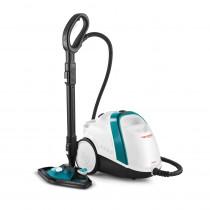 Polti Vaporetto Smart 100_T Limpiador a vapor de cilindro Azul, Blanco 1500 W