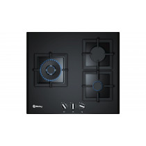 Balay 3ETG663HN hobs Negro Built-in (placement) Encimera de gas 3 zona(s)