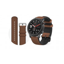 "Amazfit GTR 47mm reloj inteligente Aluminio, Marrón AMOLED 3,53 cm (1.39"") GPS (satélite)"