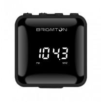 Brigmton BT-125-N radio Personal Digital Negro