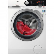 AEG L7FEE941Q lavadora Independiente Carga frontal Plata, Blanco 9 kg 1400 RPM A+++-30%