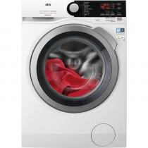 AEG L7FEE941Q lavadora Independiente Carga frontal 9 kg 1400 RPM C Plata, Blanco