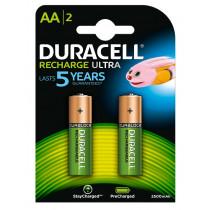 Duracell 2xAA 2400mAh 2400mAh batería recargable