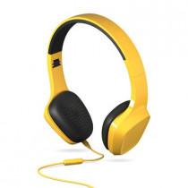 Energy Sistem 428397 auriculares para móvil Binaural Diadema Amarillo Alámbrico