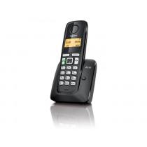 Gigaset A220 DECT Identificador de llamadas Negro