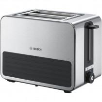 Bosch TAT7S25 tostadora 2 rebanada(s) Negro, Gris 1050 W