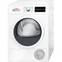 Bosch Serie 6 WTG86260EE secadora Freestanding (placement) Carga frontal Blanco 8 kg B