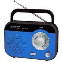 Sunstech RPS560 Portátil Analógica Azul radio