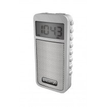 Brigmton BT-126 Portátil Digital Blanco radio