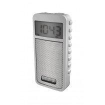 Brigmton BT-126 Portátil Digital Blanco radio