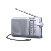 Panasonic RF-U160D radio Portátil Digital Plata