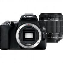 Canon EOS 250D + EF-S 18-55mm f/3.5-5.6 III + SB130 Juego de cámara SLR 24,1 MP CMOS 6000 x 4000 Pixeles Negro