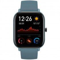 "Amazfit GTS reloj inteligente Azul AMOLED 4,19 cm (1.65"") Móvil GPS (satélite)"