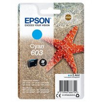 Epson Singlepack Cyan 603 Ink