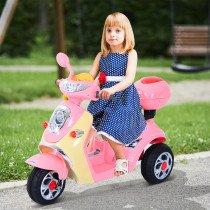Coche Triciclo HOMCOM Moto Electrica ROS