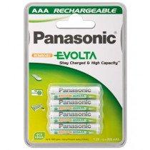 Wentronic AAA 800mAh NiMH 4-BL EVOLTA Panasonic Rechargeable battery Níquel-metal hidruro (NiMH)