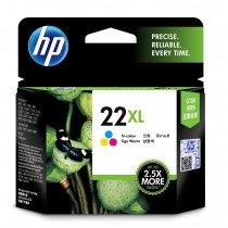 HP 22XL Original Cian, Magenta, Amarillo 1 pieza(s)