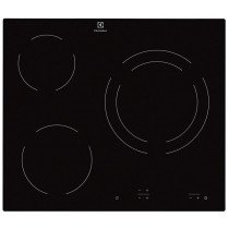 Electrolux EHF6231IOK hobs Negro Built-in (placement) 3 zona(s)