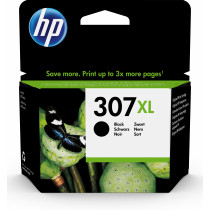 HP 307XL Extra High Yield Black Original Ink Cartridge cartucho de tinta 1 pieza(s) Alto rendimiento (XL) Negro