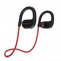 Energy Sistem BT Running 2 Neon Auriculares gancho de oreja, Banda para cuello Negro, Rojo
