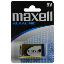 Maxell Alkaline Single-use battery 9V Alcalino 1,5 V