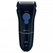 Braun Series 1 130 Máquina de afeitar de láminas Recortadora Azul afeitadora
