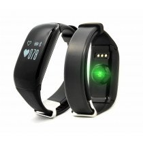 "Brigmton BSPORT-14 Wristband activity tracker 0.69"" OLED Inalámbrico IP67 Negro"