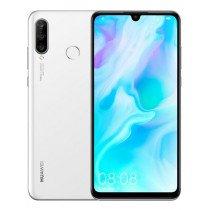"""Huawei P30 lite 15,6 cm (6.15"""") 4 GB 128 GB Ranura híbrida Dual SIM Blanco 3340 mAh"""