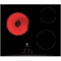Balay 3EB714LR hobs Negro Built-in (placement) Cerámico 3 zona(s)