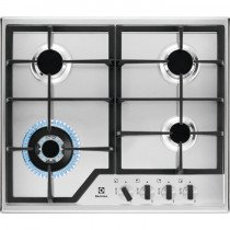 Electrolux KGS6436X hobs Acero inoxidable Built-in (placement) Encimera de gas 4 zona(s)