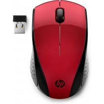 HP Ratón inalámbrico 220 (Rojo Ocaso)