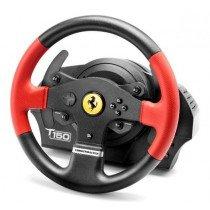 Thrustmaster T150 Ferrari Wheel Force Feedback Volante + Pedales PC,PlayStation 4,Playstation 3 USB Negro, Rojo