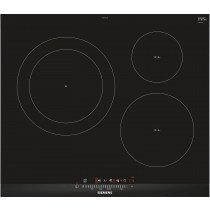 Siemens EH675FJC1E hobs Negro Built-in (placement) Con placa de inducción 3 zona(s)
