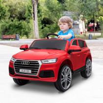 Coche Electrico HOMCOM Audi Q5 Rojo para