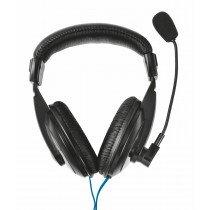 Trust 21661 auricular y casco Auriculares Diadema Negro