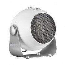 Olimpia Splendid Caldodesign Calentador de ventilador Interior Plata, Blanco 1800 W