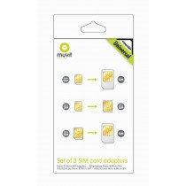 Muvit MUMIC0003 adaptador para tarjeta de memoria sim / flash SIM card adapter