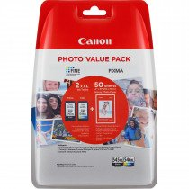 Canon PG-545XL/CL546XL Original Negro, Cian, Amarillo, Magenta 2 pieza(s)