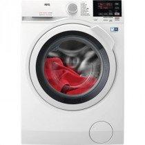 AEG L7WBG841 lavadora-secadora Independiente Carga frontal Blanco