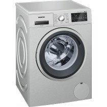 Siemens iQ500 WM12T49XES Independiente Carga frontal 8kg 1200RPM A+++ Acero inoxidable lavadora