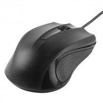 Vivanco 36637 ratón USB Óptico 1000 DPI Ambidextro Negro