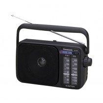 Panasonic RF-2400D radio Portátil Analógica Negro