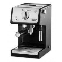DeLonghi ECP 33.21 cafetera eléctrica Independiente Máquina espresso Negro, Acero inoxidable 1,1 L Semi-automática