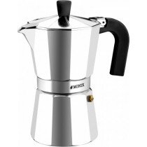 Monix M620006 manual coffee maker Moka pot Aluminio